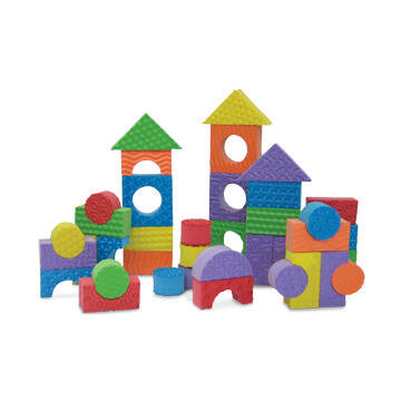 Textured Blocks - 80pcs