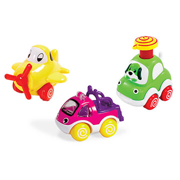 Push N Pull Racers Trio