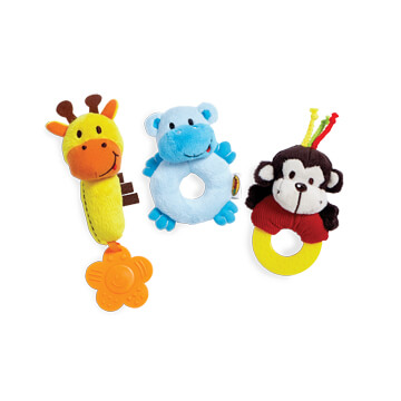 Soft Pals - Set of 3
