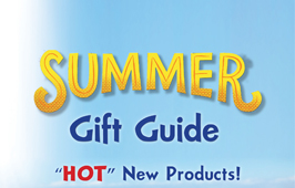 Summer Gift Guide  2018 - Toys & Games section.